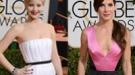 Jennifer Lawrence y Sandra Bullock, Globos de Oro 2014 a las más horteras