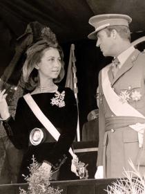 La verdadera historia de amor de Juan Carlos de Borbón y Sofía de Grecia