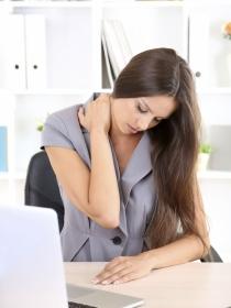 Contracturas en la espalda por exceso de trabajo