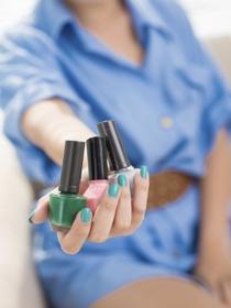 Cómo pintarte las uñas para ir a una comunión