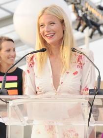 El look lady de la solidaria Gwyneth Paltrow en Paddle & Party for Pink