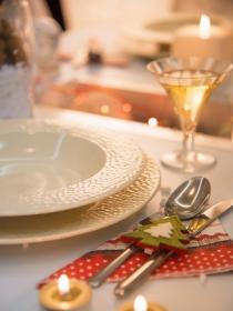 Cómo preparar una cena de Navidad para dos