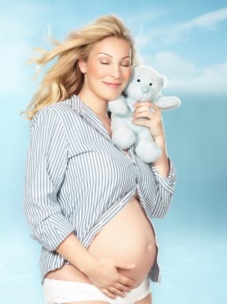 Embarazada con la regla