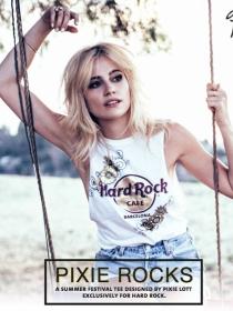 Pixie Lott y Hard Rock Cafe Barcelona diseñan tu look más festivalero