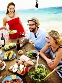 Ideas para comer sano en un picnic de playa