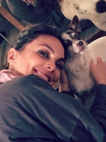 Perros de famosos: Luna, la musa de Mónica Carrillo