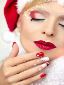 5 manicuras para hacer en Navidad y deslumbrar