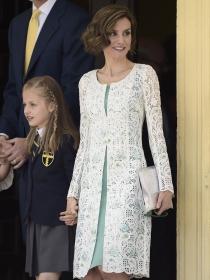 Vestidos de comunión para mamás: cómo vestir en una Primera Comunión