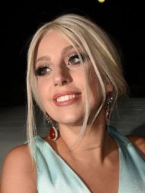 Lady Gaga tiene un descuido y enseña su piercing vaginal