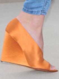 Cuñas, el zapato de moda
