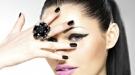 Diseños de uñas: combina el negro en las mejores manicuras