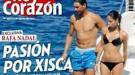 Rafa Nadal y su novia, Xisca Perelló, desatan su pasión en alta mar