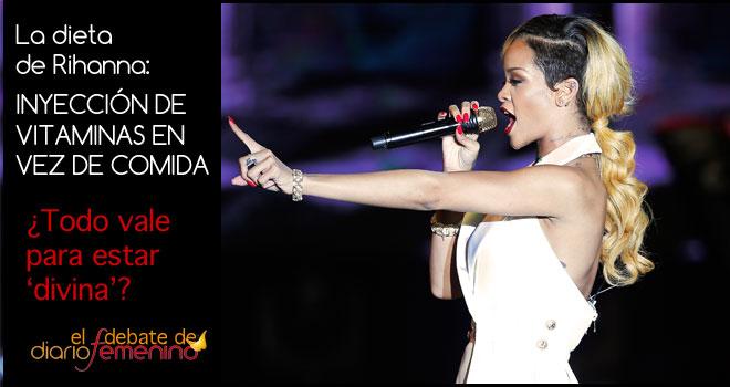 La dieta de Rihanna, por vena: ¿todo vale para estar delgada?