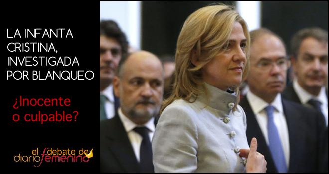 La Infanta Cristina, investigada por blanqueo de capitales: ¿inocente o culpable?