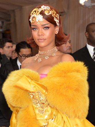 MET Gala 2015: el vestido oriental de Rihanna