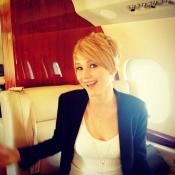 El nuevo look de Jennifer Lawrence con el pelo corto