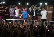 The Wanted triunfa ante sus fans allá por donde va