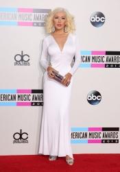 Christina Aguilera a lo Marilyn Monroe en los American Music Awards 2013