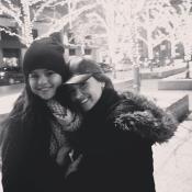 Selena Gomez y Demi Lovato, más unidas que nunca en Navidad