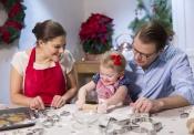 Victoria de Suecia celebra con su familia la Navidad