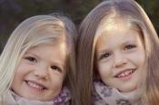 En 2010 las infantas Leonor y Sofía vuelven a ser las completas protagonistas de la felicitación