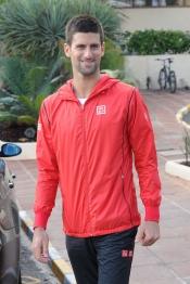 Djokovic, en Marbella sin su novia Jelena Ristic