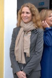 El nuevo look de la Infanta Elena