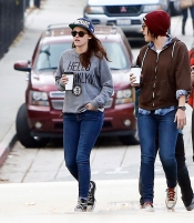 Kristen Stewart, la fan number one de los Brooklyn Nets