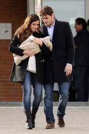 Sara Carbonero e Iker Casillas, orgullosos de su hijo Martín