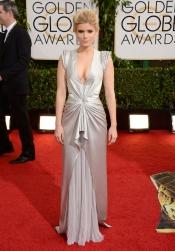 El espectacular escote de Kate Mara en los Globos de Oro 2014