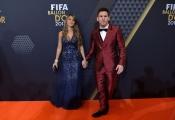 Antonella Rocuzzo y Leo Messi, los derrotados en la gala del Balón de Oro