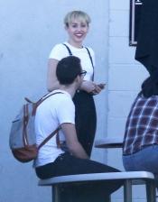 Miley Cyrus y su look menos sexy