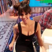 Cristina Pedroche, sexy hasta trabajando