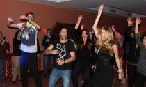 Sonia y Kristian celebraron con sus fans y amigos de GH su primer aniversario