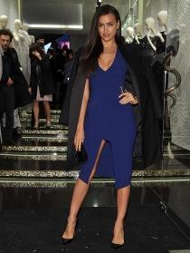Irina Shayk, tan sexy como elegante en Milán