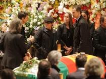 Alejandro Sanz, junto al Príncipe Felipe y la familia de Paco de Lucía