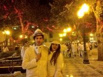 Sonia Walls y Kristian de GH, de Carnaval y tan guapos como siempre