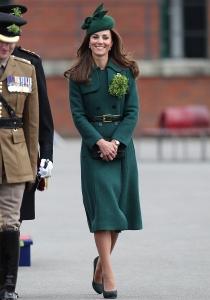 Kate Middleton celebra San Patricio totalmente vestida de verde