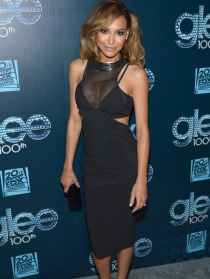 Naya Rivera, un look con clase para celebrar el éxito de Glee