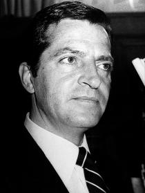 Adolfo Suárez en una de sus instantáneas más conocidas