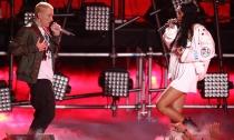 Rihanna y Eminem deleitan con su música en los MTV Movie Awards 2014