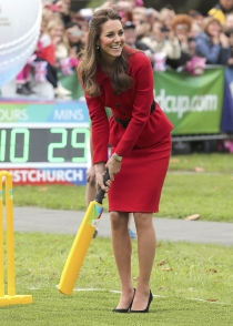 Kate Middleton, deportista nata y siempre elegante
