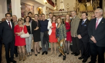 Los famosos se reúnen en la Semana Santa malagueña