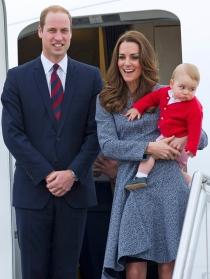 Kate Middleton, el príncipe Guillermo y el pequeño Jorge se despiden de Australia