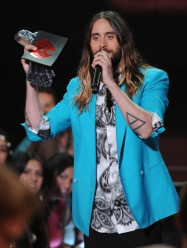 Jared Leto, el más rockero de los iHeart Radio Music Awards 2014