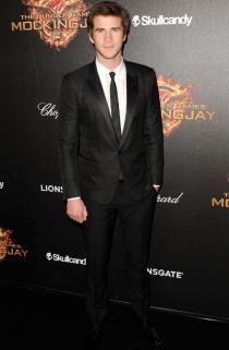 Liam Hemsworth, en Cannes presentando 'Los juegos del hambre'