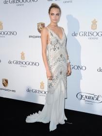 Cara Delevingne sacó su lado más elegante en Cannes 2014