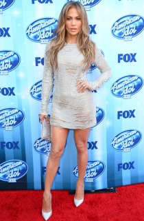 Jennifer Lopez, la más sexy de la gala 'American Idol'