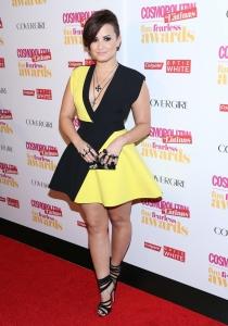 Demi Lovato, disfrazada de abeja Maya
