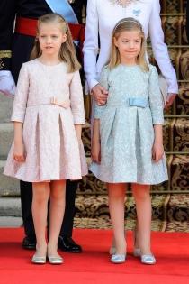 La Princesa Leonor y la Infanta Sofía, protagonistas en la coronación del nuevo rey
